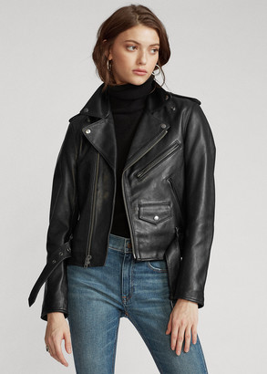 Ralph Lauren Sheepskin Moto Jacket