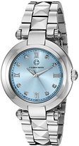 Cabochon Women's 16088-25 Cairo Analog Display Quartz Silver Watch