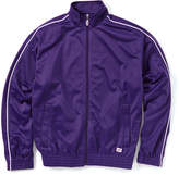 Soffe New Purple Stripe Knit Track Jacket