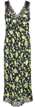 Diane von Furstenberg floral-print dress