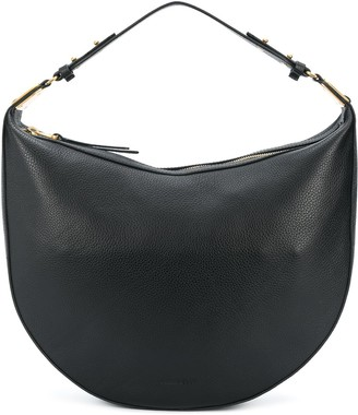Coccinelle Rounded Leather Shoulder Bag