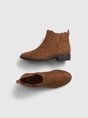 Gap Kids Leopard Print Ankle Boots