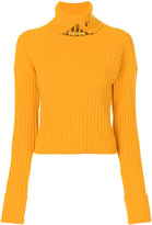 Aviu roll neck embellished jumper