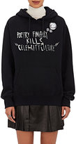 Each X Other Women's Graphic Cotton Hoodie-BLACK