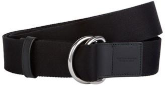 Bottega Veneta O-Ring Leather Trim Belt