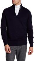 Toscano Quarter Zip Knit Pullover
