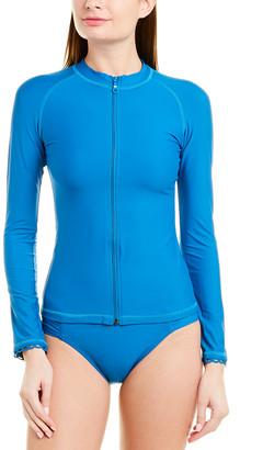 Helen Jon Scalloped Surf Shirt