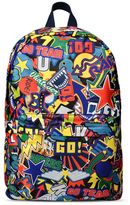 Stella McCartney multi-colored bang backpack