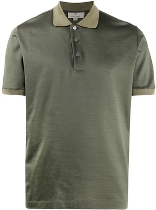 Canali Plain Polo Shirt