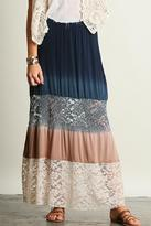Umgee USA Ombre Maxi Skirt