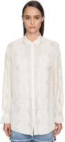 Ermanno Scervino COTTON MUSLIN & LACE BLOUSE