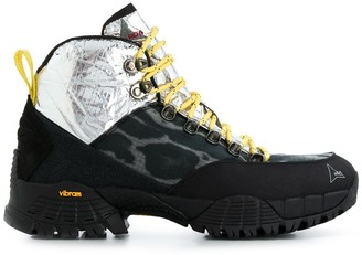 ROA Panelled Hiking Boots