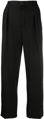 Yves Saint Laurent Pre Owned High-Waisted Tailored Trousers