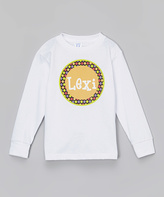 Swag White Personalized Tee - Infant Toddler & Girls
