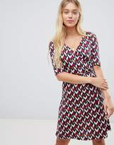 Gilli Printed Midi Dress With 3/4 Sleeve