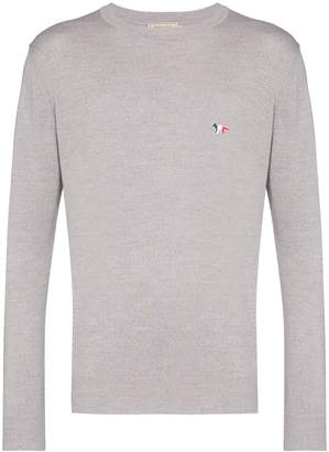 MAISON KITSUNÉ crew-neck sweater