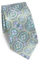 Ermenegildo Zegna Quindici Printed Silk Tie