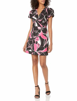 Milly Women's Atalie Stencil Floral Dress