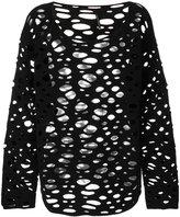 Pierantonio Gaspari Pierantoniogaspari mesh sweater