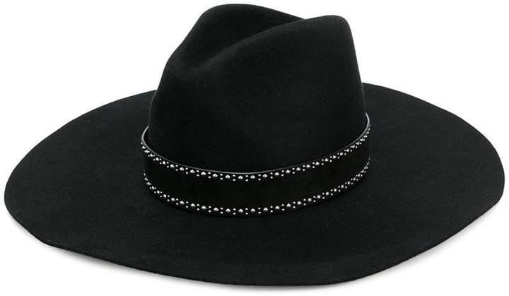 2c91c0e6f6d Black Wide Brim Hat - ShopStyle