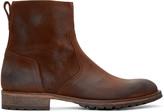 Belstaff Brown Suede Attwell Boots