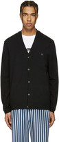 Acne Studios Black Dasher C Face Cardigan