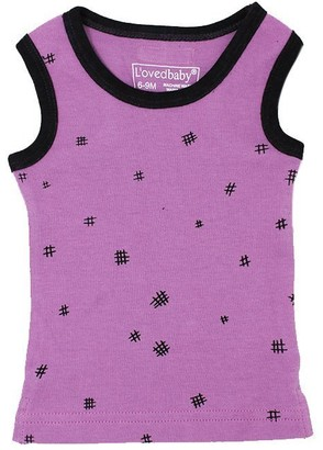L'ovedbaby Tank Top Grape Hatch 0-3 Months