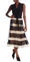 Derek Lam Lace Midi Skirt