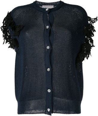 Kolor Embroidered Cardigan