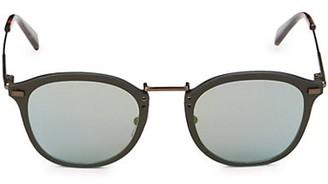 Ermenegildo Zegna 60MM Round Sunglasses