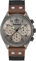 Timberland Men's Wolcott Two-Tone Leather Strap Watch 44x48mm TBL14859JSQS61