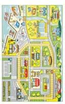 nuLoom Kinderloom Fairy-Tale Town Print Area Rug