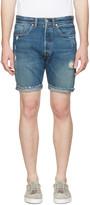 Levi's Levis Indigo Denim 501 Ct Shorts