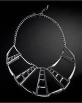 Cage Bib Necklace