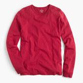 J.Crew Tall long-sleeve textured cotton T-shirt