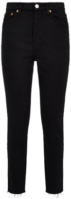 RE/DONE High-Rise Crop Skinny Jeans