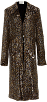 Rodarte Sequin Embellished Long Jacket