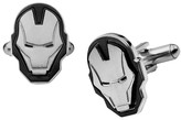 Iron Man Ironman Men's Marvel Face Stainless Steel Cufflinks
