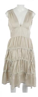 Marc by Marc Jacobs Beige Silk Dresses