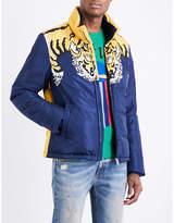 Gucci Tiger-print Shell Jacket