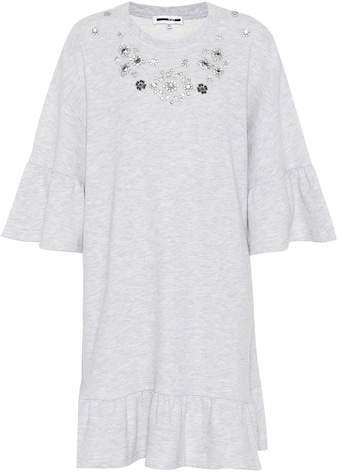 McQ Cotton-blend sweatshirt dress