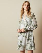 Ted Baker GLIMMAH Highland swing mini dress