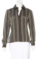 Akris Silk Striped Top