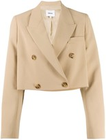 Nanushka Moscot cropped blazer