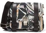 Proenza Schouler Ps1 Leather-Trimmed Printed Twill Shoulder Bag
