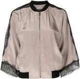 Diesel Giacca G-Lola jacket - women - Cotton/Polyamide/Polyester/Metallic Fibre - S