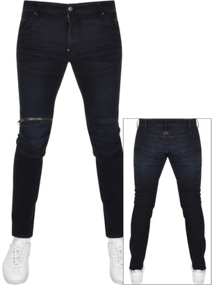G Star Raw 5620 3D Skinny Jeans Navy