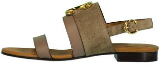 Chloé Back Strap Flat Sandal