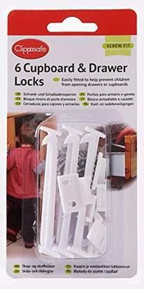 Clippasafe CL710 Cupboard Lock (6-Pack)