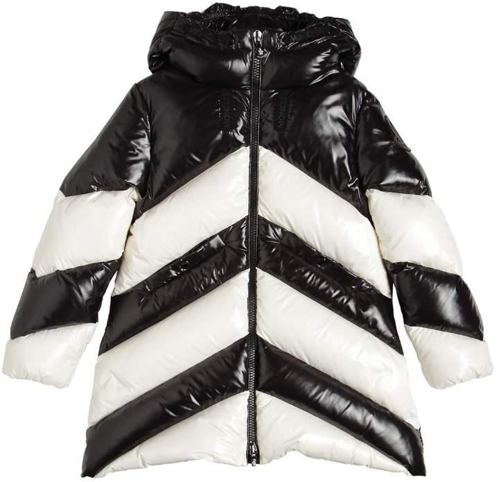 c356768aa Faucille Two Tone Nylon Down Coat